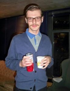 hipster cardigan