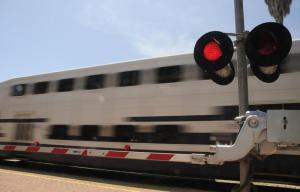 Metrolink train.