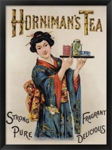 horniman's japanese poster